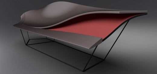 Ford GT-inspired chaise lounge
