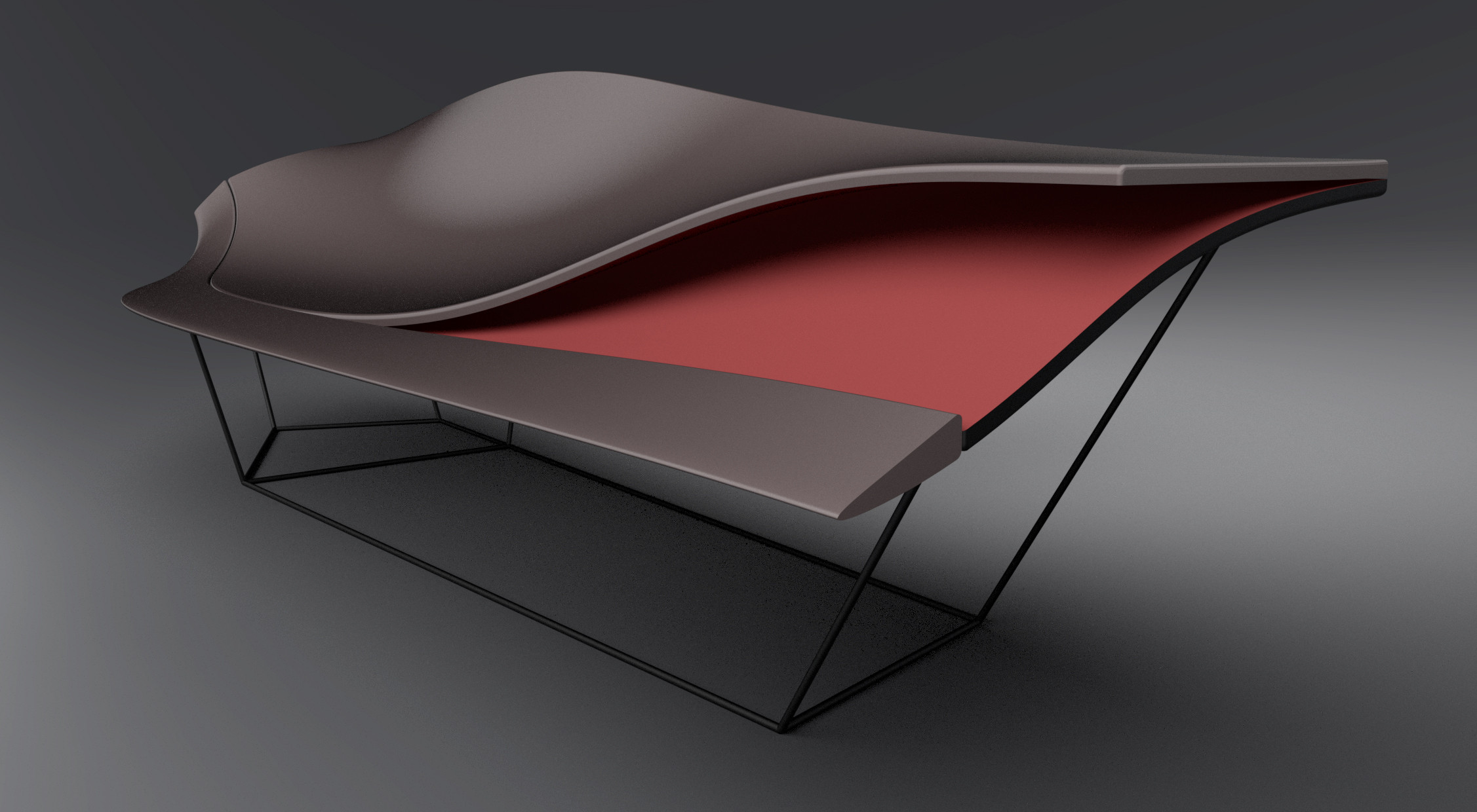 Ford gt inspired design joins italian furniture expo for Design chaise 2015