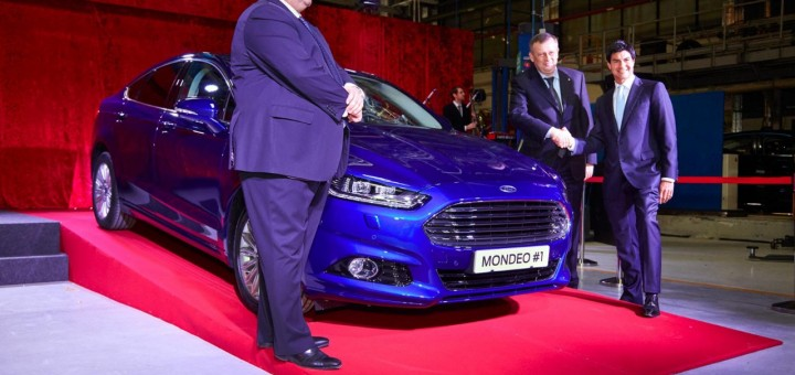 Ford Mondeo begins production at Ford Sollers Vsevolohsk 02