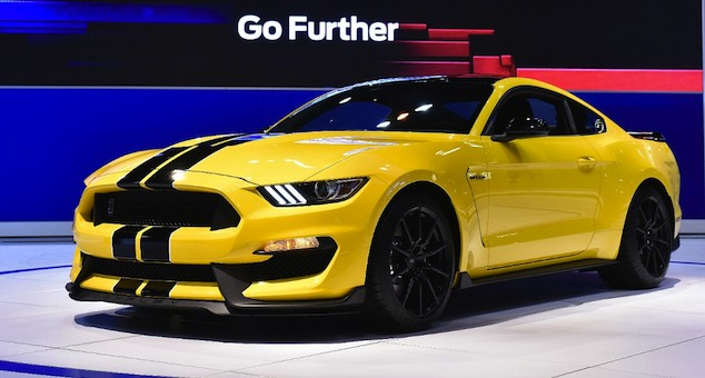Ford Shelby Mustang GT350R At Chicago