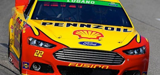 Joey Logano Ford Richmond Fifth Place