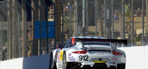 Porsche 911 RSR at Long Beach
