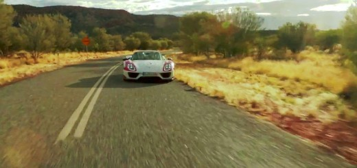 Porsche 918-full out in Australia