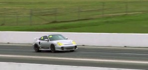 Porsche 996-twin turbo dragster