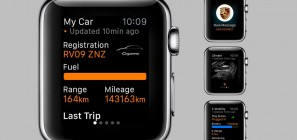 Porsche Car Connect on Apple Watch