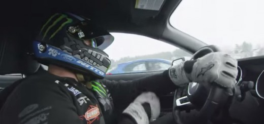 Vaughn Gittin Jr EcoBoost Ice Drift Video
