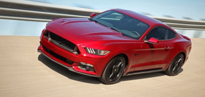 2016 Ford Mustang GT Black Package 01