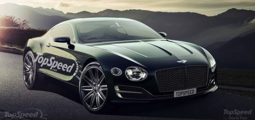 2018 Bentley Continental GT Rendering Top Speed