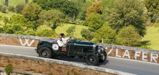 Bentley Blower at 2015 Mille Miglia 02