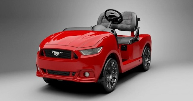 Ford Mustang Golf Cart Is Retirement Chic on