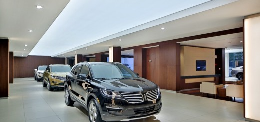 The Lincoln MKC small premium utility is among the first two vehicles now for sale in Lincoln stores in China.