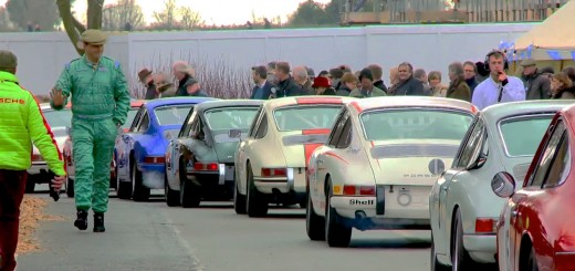 Porsche 911 classics at Goodwood