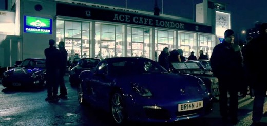 Porsche Night at Ace Cafe-London