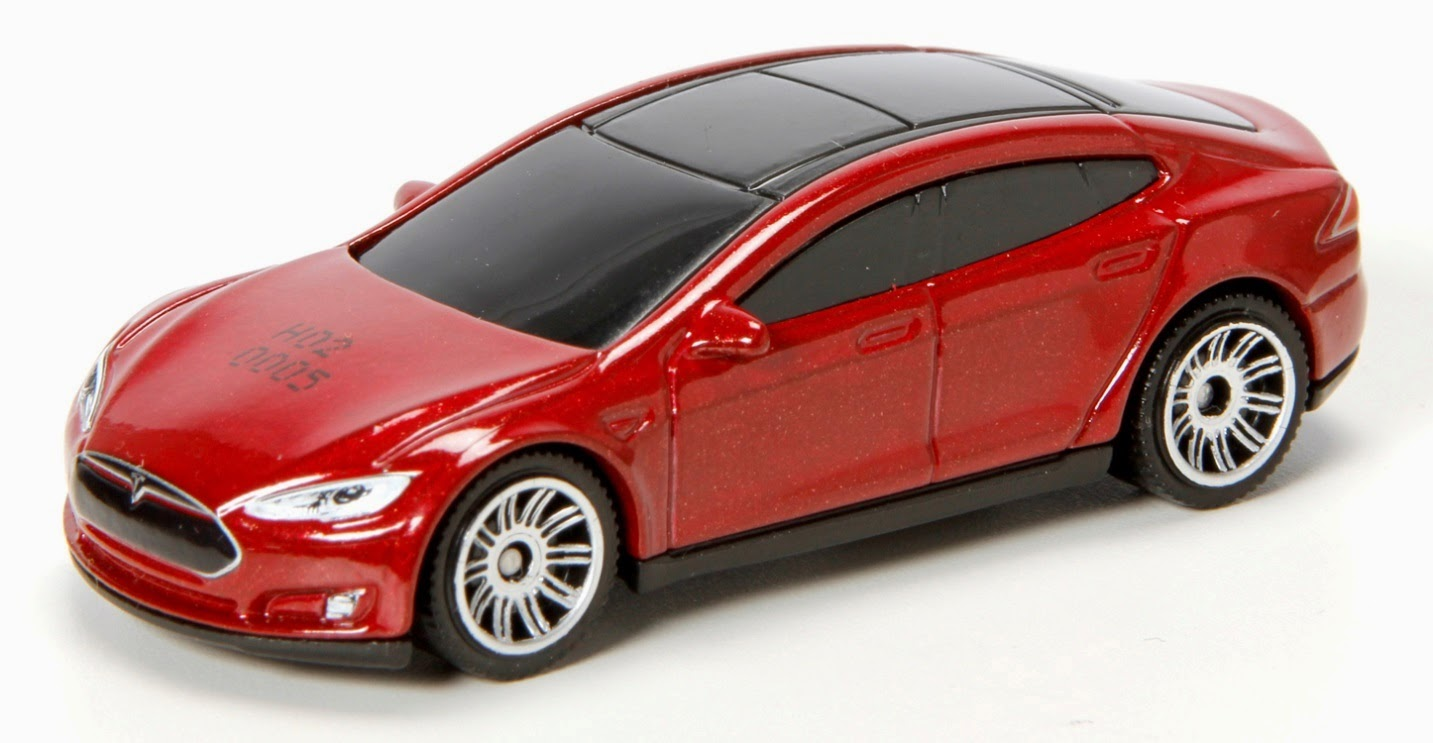 Tesla Model S Immortalized As A Toy Car Motrolix