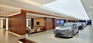 The Lincoln MKZ midsize luxury sedan is among the first two vehicles now for sale in Lincoln stores in China.