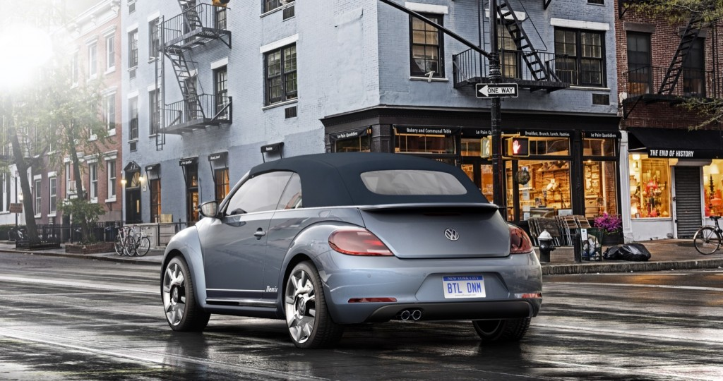 Volkswagen Beetle Convertible Denim Concept 02