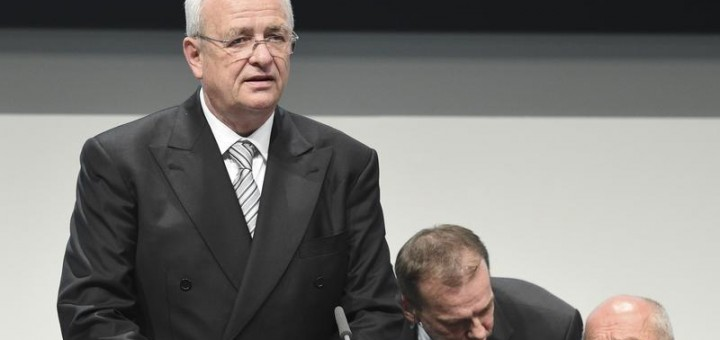 Volkswagen Group CEO Martin Winterkorn