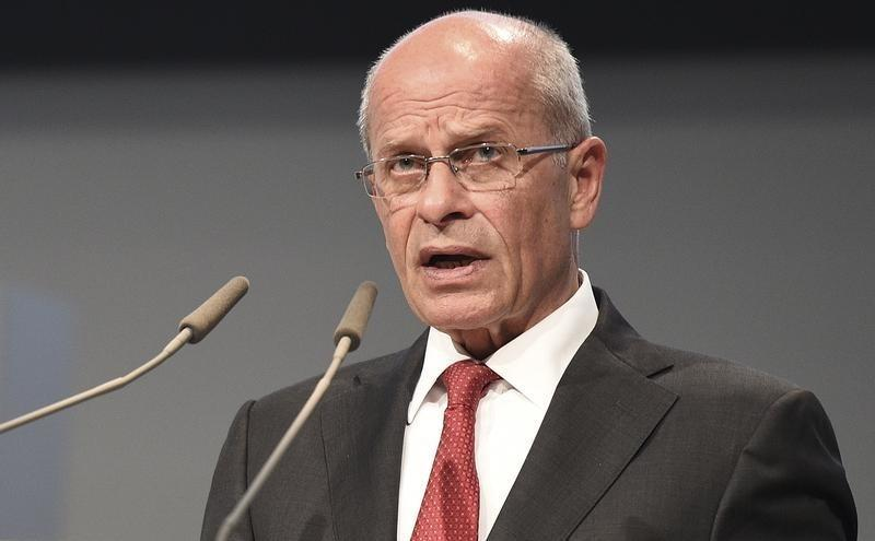 Berthold Huber was appointed Volkswagen Group interim chairman after Ferdinand Piech's resignation in April