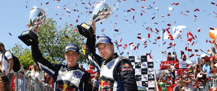 Volkswagen Rally Portugal Win