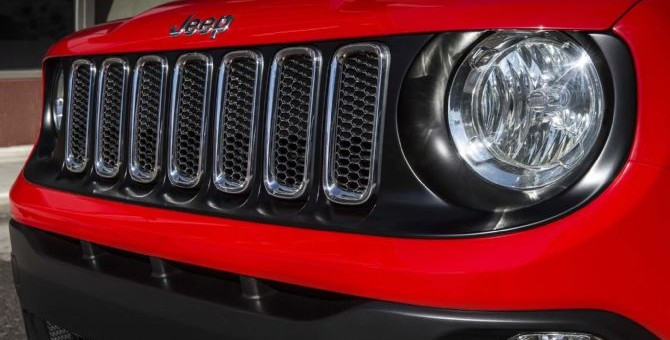 2015 Jeep Renegade Front Grille