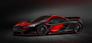 2015 MclLaren P1 in red and black 01