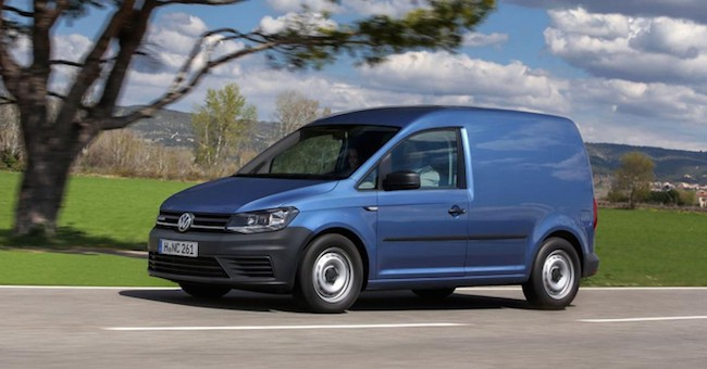 2015 Volkswagen Caddy Blue Side Pan