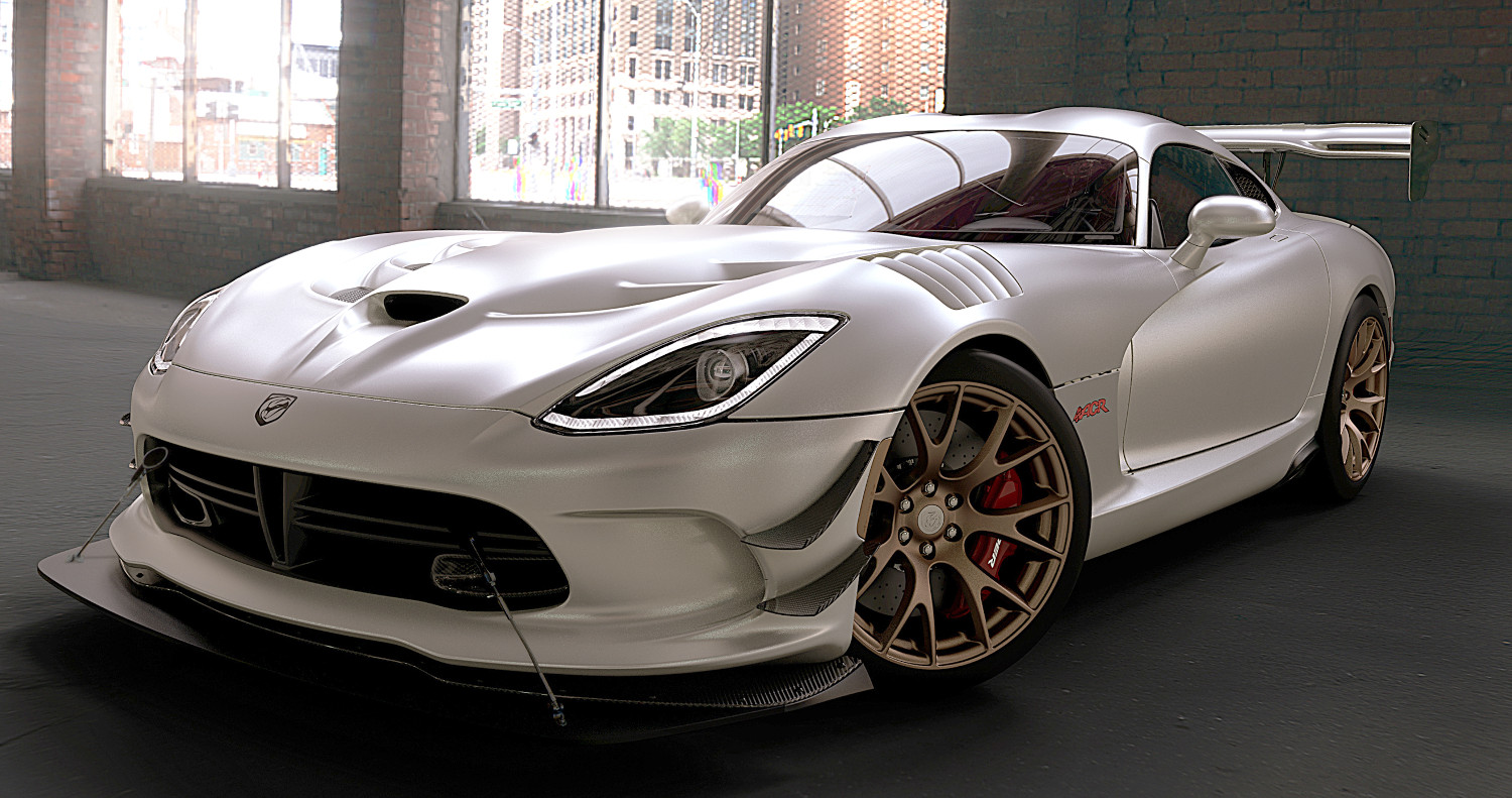 dodge viper 39 1 of 1 39 program adds matte paint motrolix. Black Bedroom Furniture Sets. Home Design Ideas