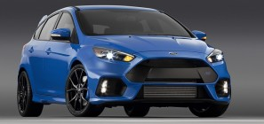 2016 Ford Focus RS Blue Front Side Quarter