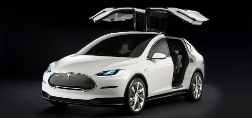 2016 Tesla Model X in white
