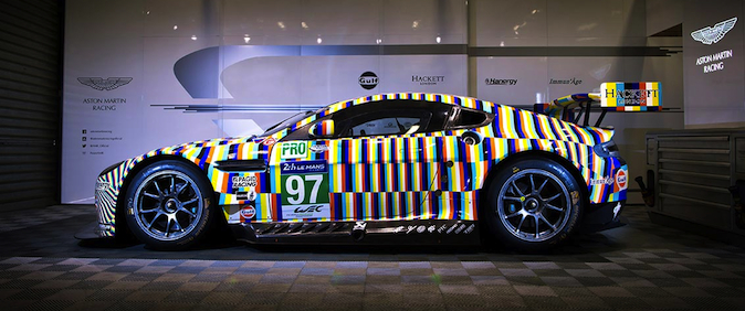 Aston Martin Vantage GTE Art Car