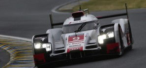 Audi R18 ETron Le Mans Test Day