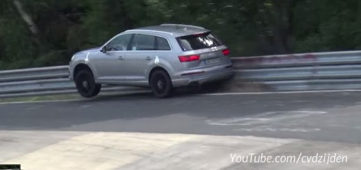 Audi SQ7 Nurburgring Crash Video