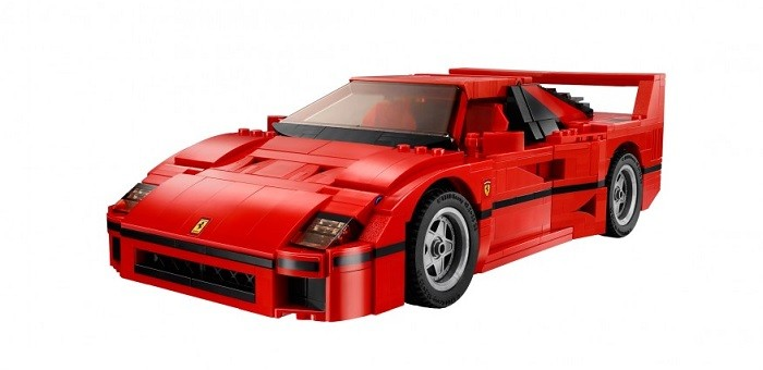lego ferrari f40 hits shelves for. Black Bedroom Furniture Sets. Home Design Ideas