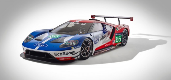 Ford GT Supercar - 2016 Le Mans 04