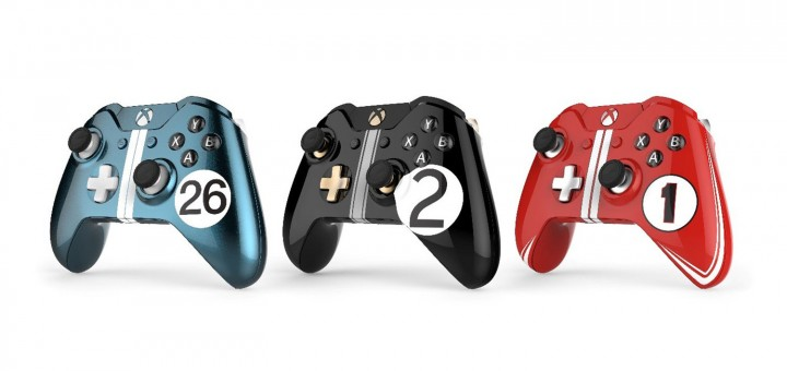 Ford Le Mans XBox One controllers