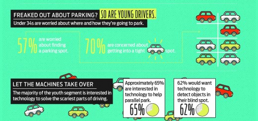 Ford Millenials survey infographic