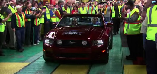 Ford Mustang 1 Million Mustangs Video