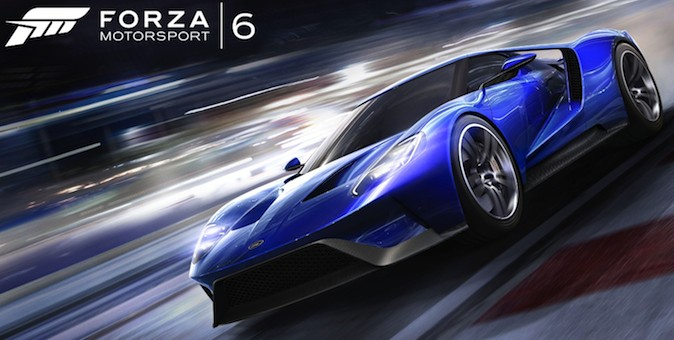 Forza Motorsport 6 Cover Art