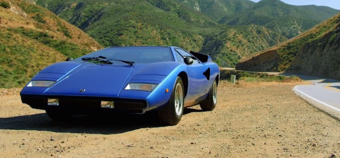 Lamborghini Countach Comedians In Cars Getting Coffee