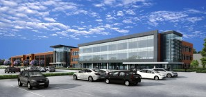 MI Toyota Technical Center expansion rendering