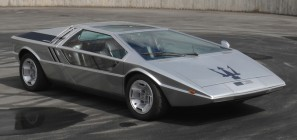 The Giugiaro designed Maserati Boomerang