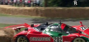 Mazda 767B Crash Goodwood