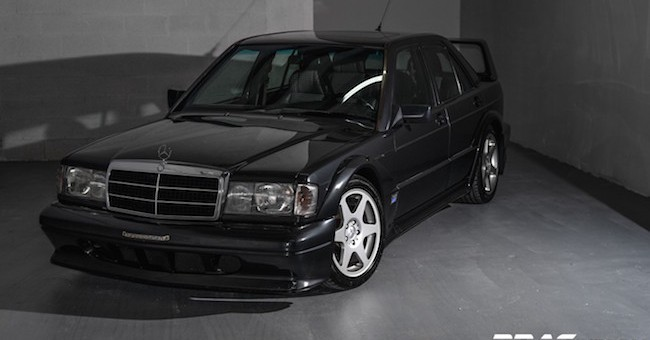 Mercedes 190 Series II EVO eBay Find