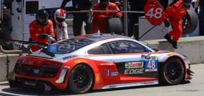 Paul miller Racing Audi R8 LMS Detroit 2015