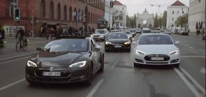 Tesla Model S Supercharger Rally 01