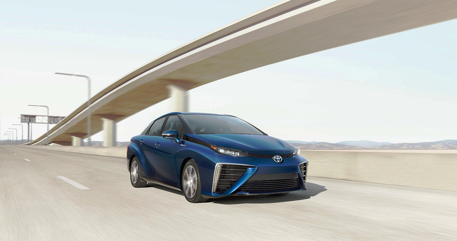 Toyota Mirai Fuel Cell Vehicle Rated At 67 Mpge Motrolix
