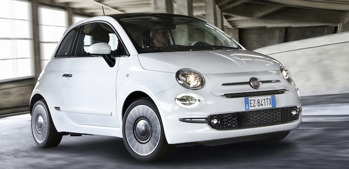 2016 fiat 500 unveiled ahead of frankfurt debut. Black Bedroom Furniture Sets. Home Design Ideas