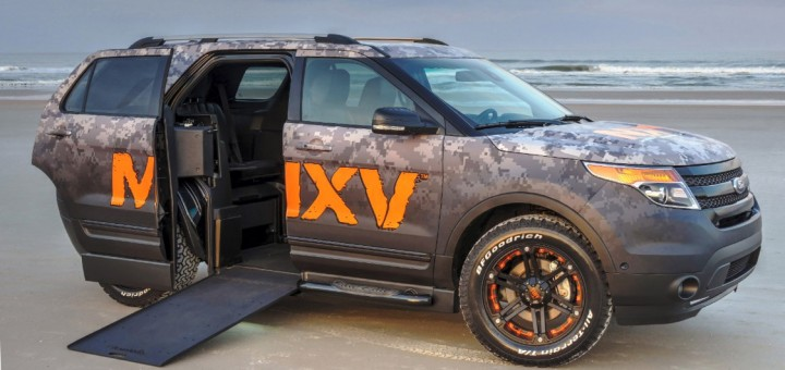 2016 Ford Explorer wheelchair accessible model