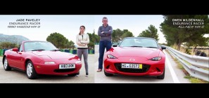 2016 Mazda MX-5 Miata old vs new