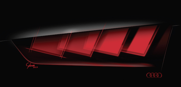 Audi OLED Lights
